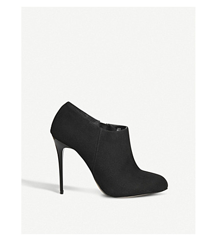 OFFICE Hitched heeled shoeboots (Black