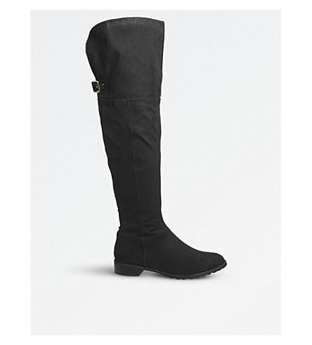 OFFICE Knightbridge over-the-knee rider boots (Black