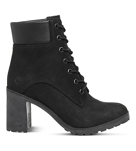 TIMBERLAND Allington 6 leather heeled ankle boots (Black