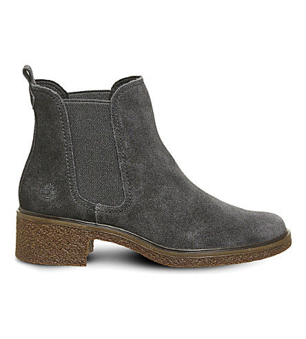 TIMBERLAND Brinda suede chelsea boots (Forged+iron+suede