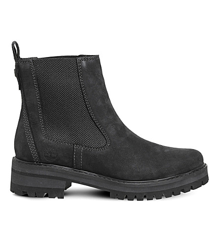 TIMBERLAND Courmayer Valley leather chelsea boots (Jet black