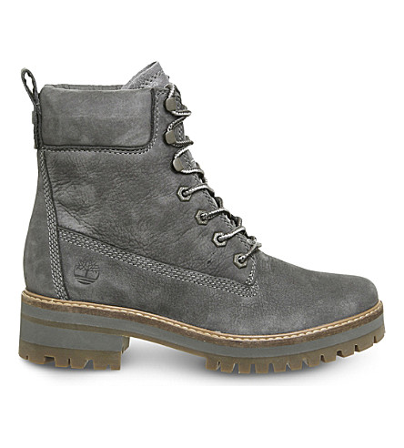 TIMBERLAND Courmayer Valley suede boots (Dark+grey