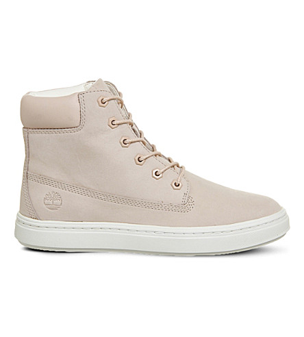 TIMBERLAND Londyn 6 leather boots (Cameo+rose