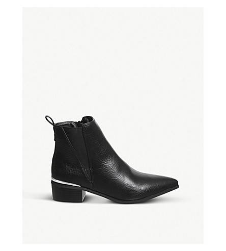 OFFICE Anchor leather Chelsea boots (Black