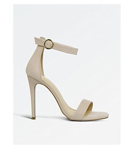 OFFICE Hallucinate strappy heels (Nude