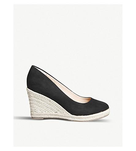 OFFICE Marbella espadrille wedge sandals (Black