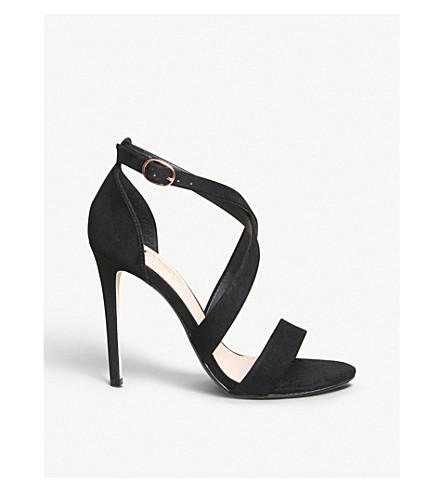 OFFICE Harper cross-over sandals (Black