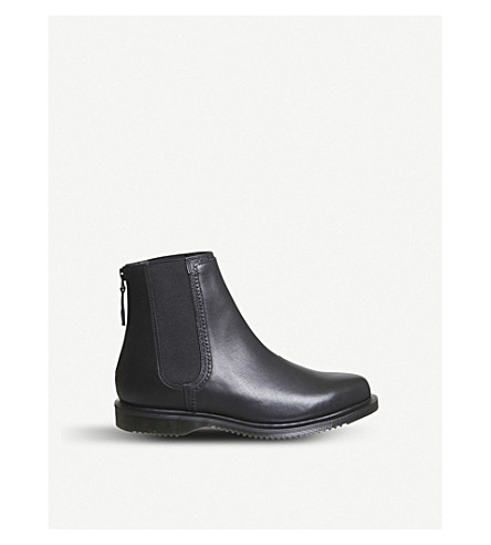 DR. MARTENS Zillow zipped leather Chelsea boots (Black
