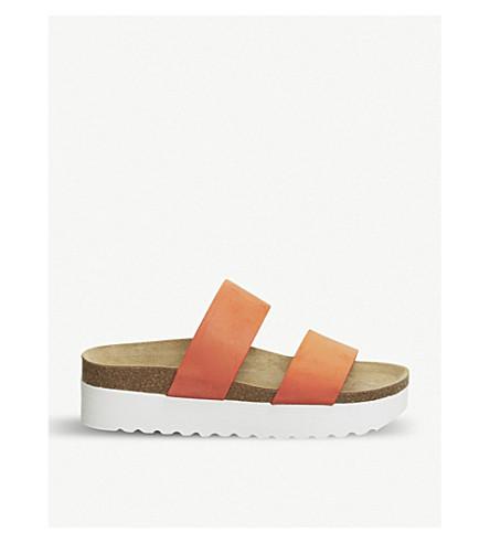 OFFICE Magnetic 2 flatform sandals (Orange