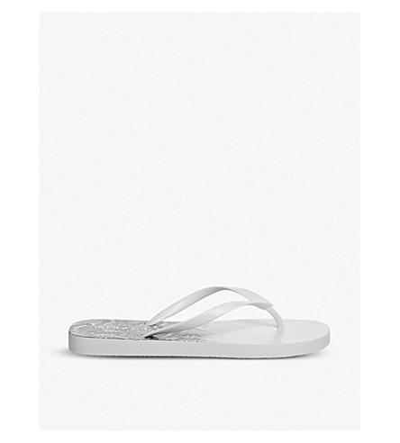OFFICE Seaside flip-flops (White+snake