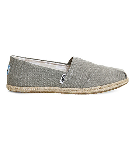 OFFICINE CREATIVE Canvas shoes (Drizzle+grey+suede
