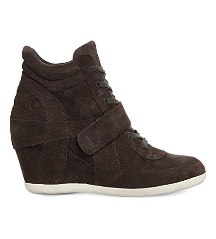 ASH鲍伊楔形绒面革踝靴 (小酒馆 + 麂皮绒