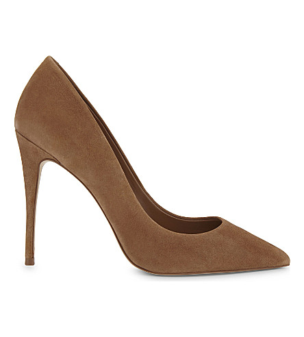 ALDO Stessy suede courts (Light+brown