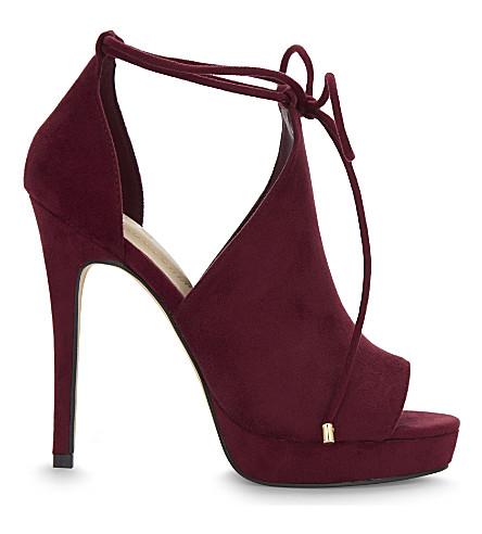 ALDO Tilley heeled sandals (Bordeau abarasivato