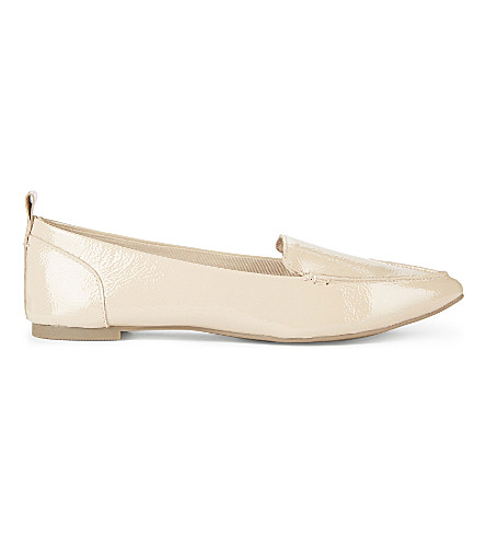 ALDO Bazovica patent-leather loafers (Bone+miscellaneous