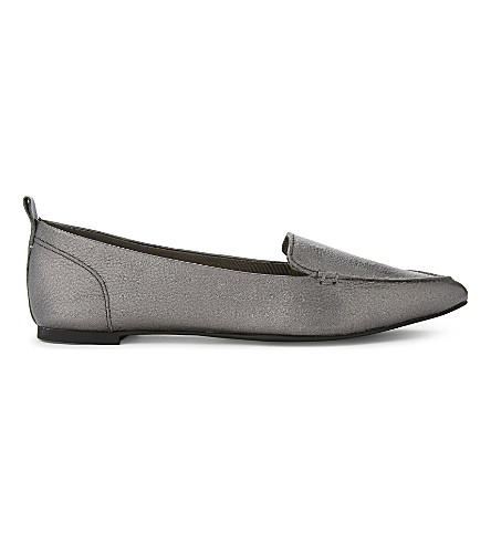 ALDO Bazovica leather loafers (Pewter