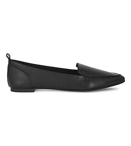 ALDO Bazovica leather pointed toe flats (Black leather