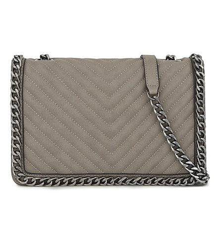 ALDO Greenwald faux-leather shoulder bag (Grey