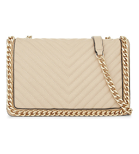 ALDO Greenwald faux-leather shoulder bag (Bone