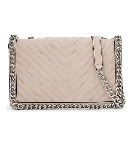 ALDO Greenwald faux-leather cross-body bag (Light+pink