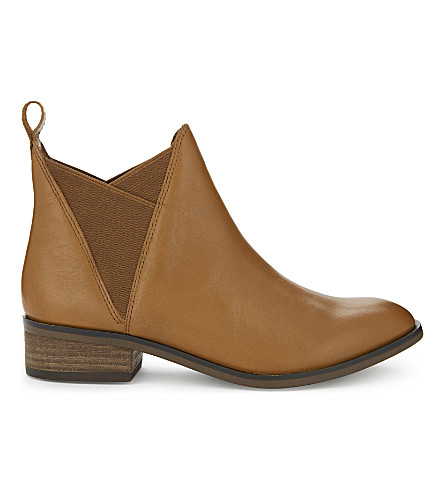 ALDO Scotch leather Chelsea boots (Cognac