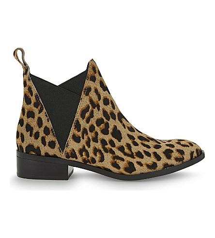 ALDO Scotch ponyhair Chelsea boots (Natural print