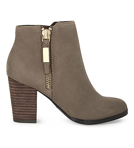 ALDO Mathia leather ankle boots (Grey