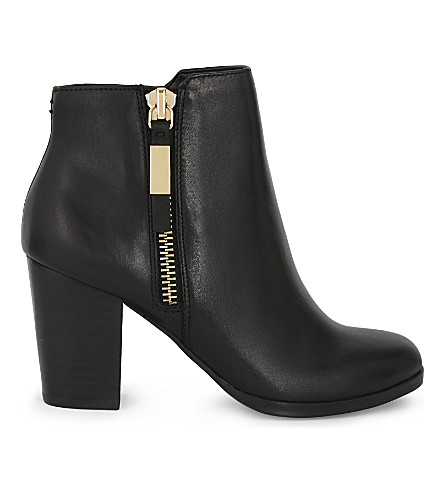 ALDO Mathia leather ankle boots (Black+leather