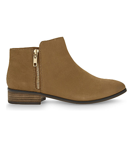 ALDO Julianna Leather ankle boots (Medium+brown