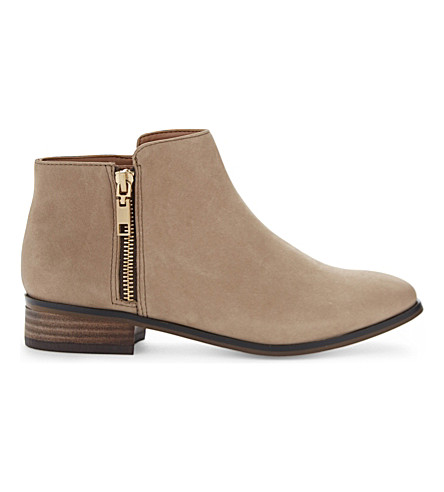 ALDO Julianna leather ankle boots (Beige