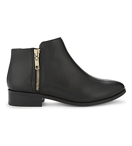 ALDO Julianna leather ankle boots (Black leather