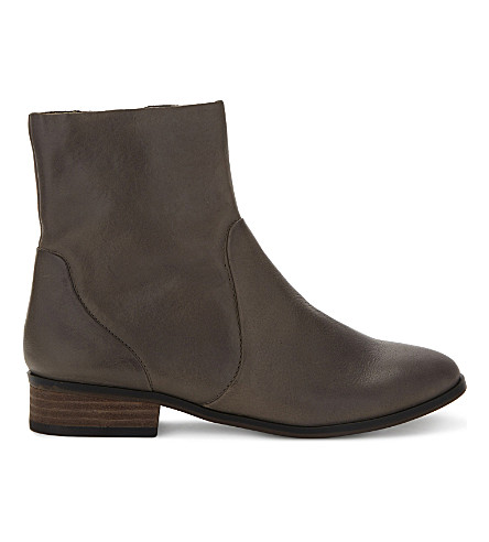 ALDO Elia leather boots (Grey