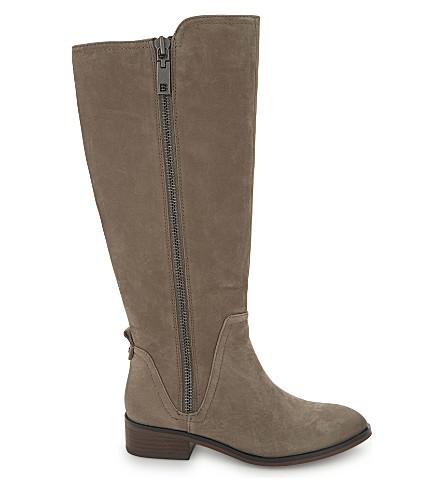 ALDO Mihaela leather knee-high boots (Grey