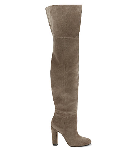 ALDO Nakina suede over-the-knee boots (Taupe