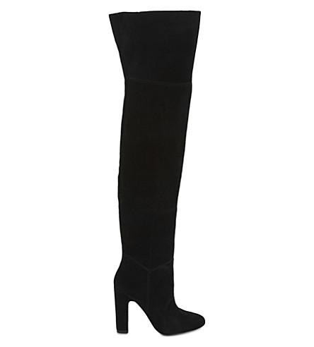 ALDO Nakina suede over-the-knee boots (Black-suede