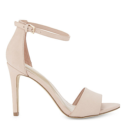 ALDO Fiolla suede heeled sandals (Light+pink