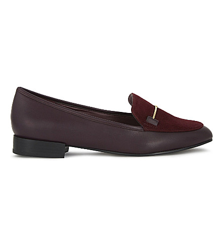 ALDO Harriett suede loafers (Bordo
