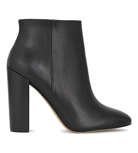 ALDO Aravia leather heeled ankle boots (Black+leather