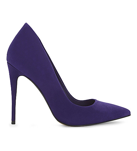 ALDO Cassedy suede court (Dark+purple
