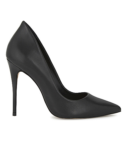 ALDO Cassedy leather courts (Black+leather