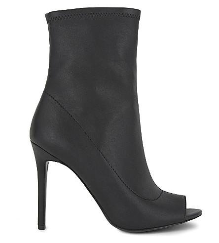 ALDO Eliliane heeled ankle boots (Black synthetic