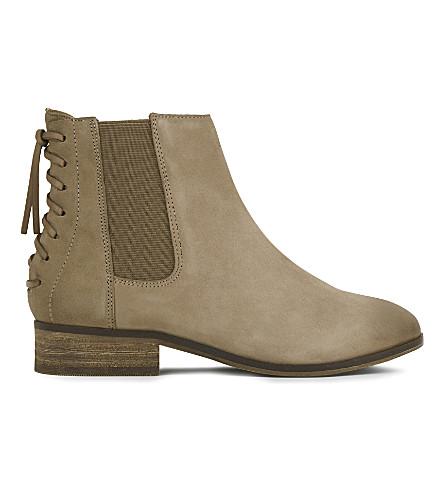 ALDO Boudinot suede Chelsea boots (Medium+brown