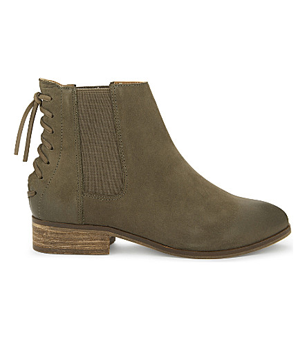 ALDO Boudinot suede ankle boots (Khaki