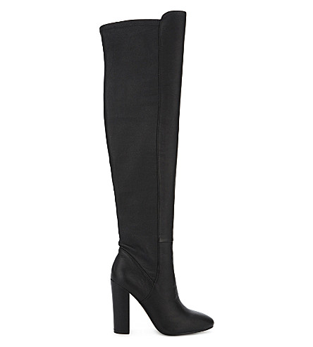 ALDO Antella leather over-the-knee boots (Black+leather