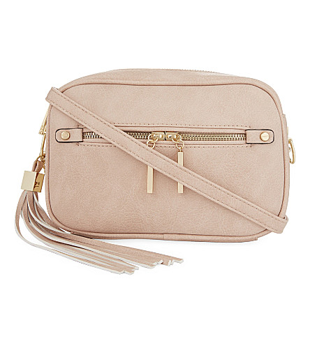 ALDO Galaniel faux-leather cross-body bag (Light+pink