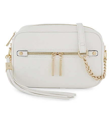 ALDO Galaniel tassel cross-body bag (White