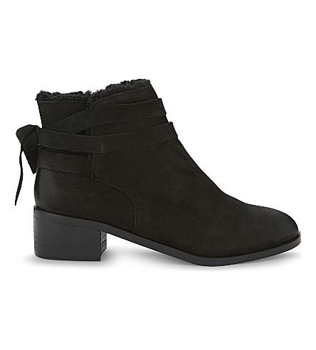 ALDO Mykala suede ankle boots (Black+nubuck