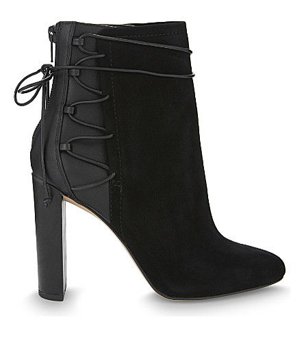 ALDO Taessa suede and synthetic ankle boots (Black+suede