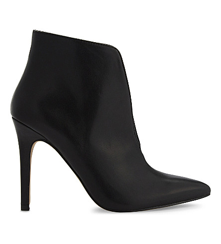ALDO Drima leather heeled ankle boots (Black+leather