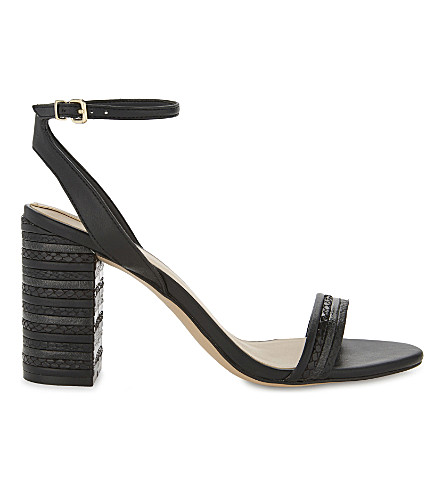 ALDO Izabela heeled sandals (Black synthetic